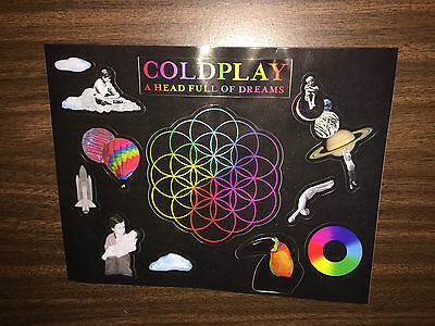 Coldplay - A Head Full of Dreams - Large Sticker - Chris Martin - U2 - Beyonce