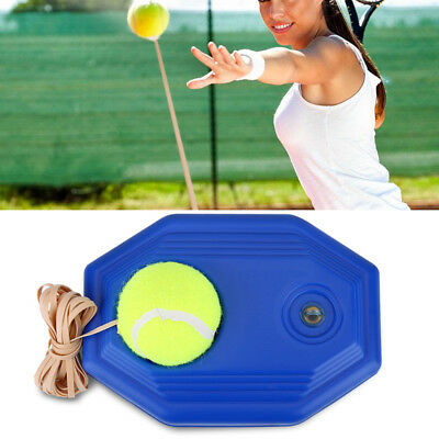 Tennis Ball Back Base Trainer Set + Rubber Band For Single Training Practice