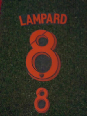 New York City MLS USA Soccer Football Lampard No8 Adult Name and Number Set