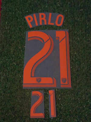 New York City MLS USA Soccer Football Pirlo No21 Adult Name and Number Set