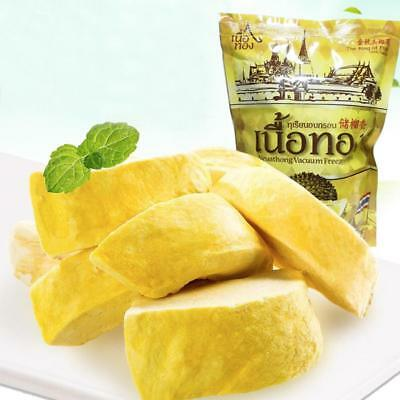 Fruit KING Dried Durian Snack Natural Healthy Premium 100g/Bag