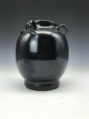 Chinese ancient ceramic jar of pure handmade