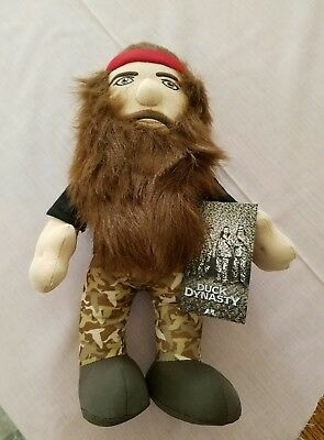 "Duck Dynasty's Willie Robertson 13"" Toy Dolls Stuffed Plush"