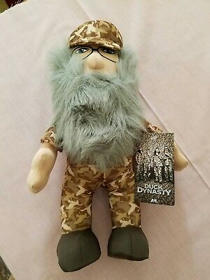 "DUCK DYNASTY 13"" stuffed character figure toy"