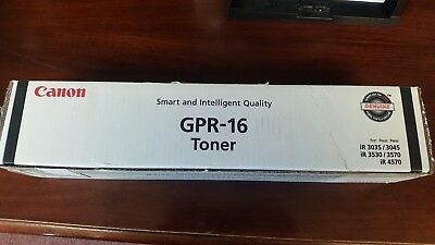 2 Pack - Genuine Canon Gpr 16 Black Toner - 2 Pack Gpr-16