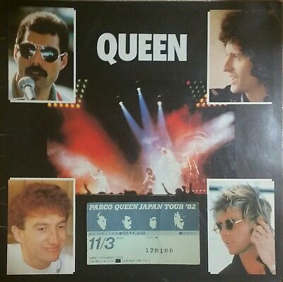 Queen - Ticket Stub + Program (Parco, Japan - Nov 3rd, 1982)