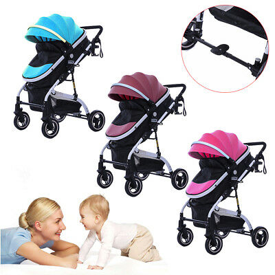 Two Way Foldable Baby Kids Travel Stroller Newborn Infant Pushchair Buggy USA