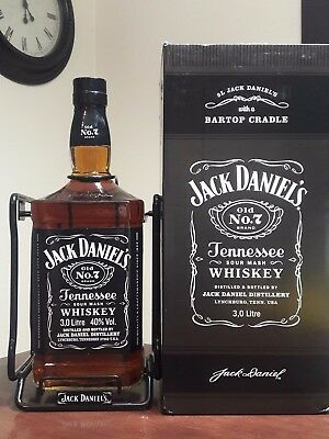 Giant Jack Daniels 3 Litre Bottle  Rare