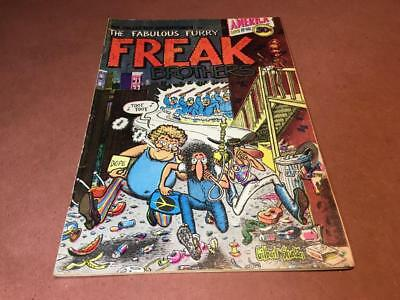 FABULOUS FURRY FREAK BROTHERS #1 -- 1971 First Printing