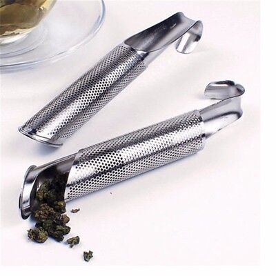 Tea Infuser Strainer Pipe Desing Stainless Steel Amazing for Loose Herbs