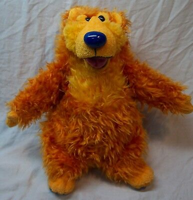 "Walt Disney Bear in the Big Blue House TALKING BEAR 14"" Plush STUFFED ANIMAL Toy"