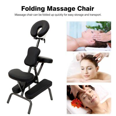 Portable Folding Massage Tattoo Chair Therapy Beauty Stool Adjustable Height