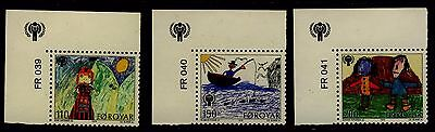 Faroe Islands 1979 - International Year of the Child - Complete set - MH