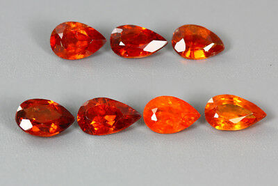4.915Ct Aaa Fanta Orange Color 100% Nr Top Sparkling Mandarin Spessartite Garnet