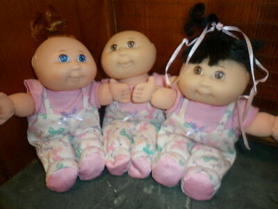 Cabbage Patch Triplets