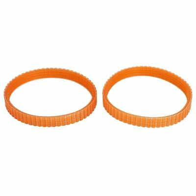 2 Pcs 9.6mm Width Electric Planer Drive Driving Belt for Makita 1900B T4S3