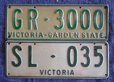 Vic Personalised License Number Plates