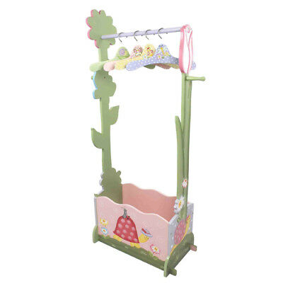Magic Garden Clothing Rack with 4 hangers by Fantasy Fields Teamson