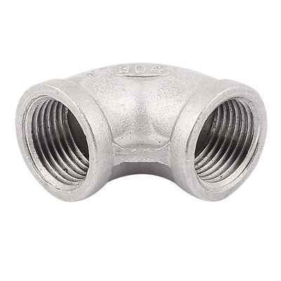 1/2BSP Female 90 Degree Stainless Steel Equal Elbow Pipe Fitting T8B7
