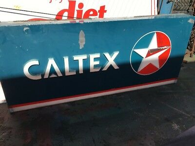 Caltex Lens Genuine Sign
