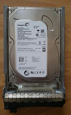 Seagate 500gb SATA with caddy from Dell Poweredge 1950 III free shipping usa can