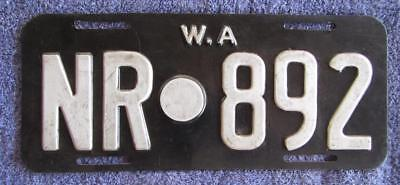 Northampton Shire License Number Plate #nr.892