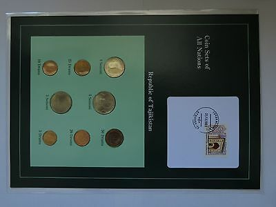 Coin Sets of all Nations - Tajikistan
