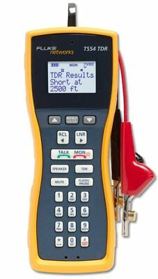 Fluke Networks TS54-A-09-TDR TS54 Pro LCD Butt-In TDR Telephone Test Set with