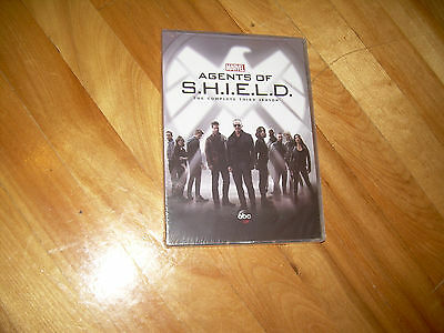 Complete Third Season 3 Three Sealed NEW AGENTS OF SHIELD (DVD 2016, 5-Disc Set)
