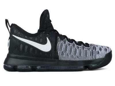buy popular 76e31 dcfec uomo NIKE ZOOM KD 9 NERO Scarpe da basket 843392 010
