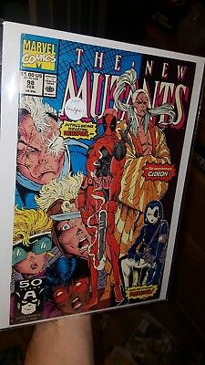 The New Mutants #98 (Feb 1991, Marvel) 1st Appearance of Deadpool Fine Condition