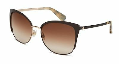 Genuine Kate Spade Glenice - Sunglasses Replacement Lenses - Gradient Brown