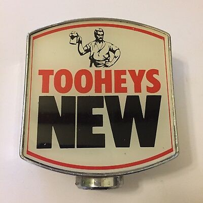Tooheys New Beer Tap Badge, Decal, Top Vintage Collectable