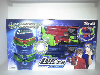 SILVERLIT. Lazer Mad 2.0 Battle Ops. ITEM NO.86840. NEW IN BOX