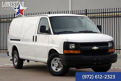 2013 Chevrolet Express Clean Carfax One Owner 2013 White Clean Carfax One Owner!