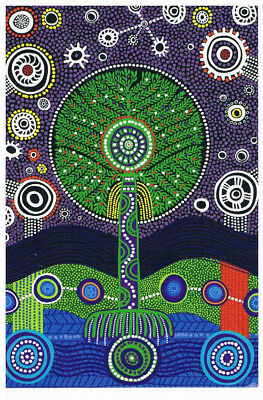 Australian Aboriginal Stolen Generation postcard, new