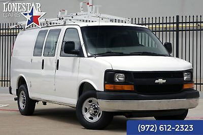 2007 Chevrolet Express Express 2007 White Express One Owner 35 Service Records Clean Carfax