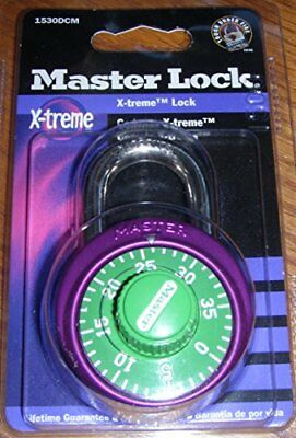 Master Lock 1530DCM Anodized Body Combination Lock