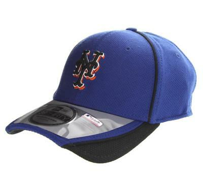 super popular 6c649 cce42 MLB New York Mets Authentic Batting Practice Stretch Fit Cap New Era  39THIRTY