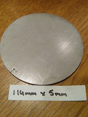 5mm Stainless Steel Disc Circle 114x5