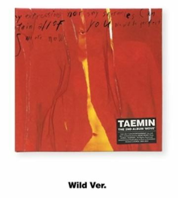 TAEMIN - MOVE - 2nd ALBUM Wild Ver. CD+Booklet+PhotoCard+Letter