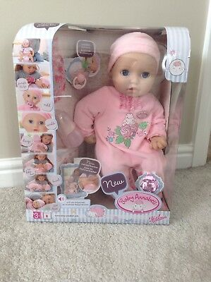 Baby Annabell  interactive doll *Brand New* RRP £54.99