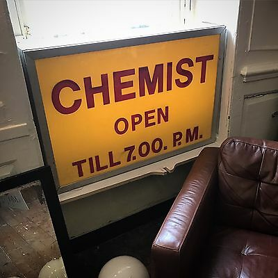 Chemist Light Box Sign