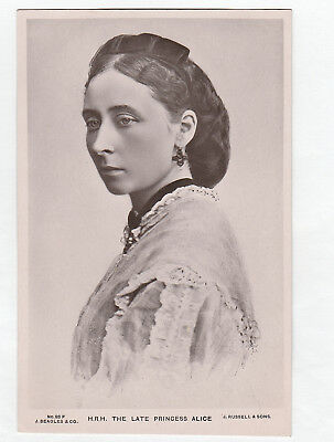 Rare Royalty Postcard. H.R.H. The Late Princess Alice