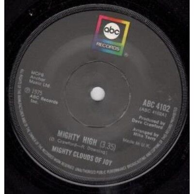 "MIGHTY CLOUDS OF JOY Mighty High 7"" VINYL UK Abc 1975 B/W Touch My Soul"