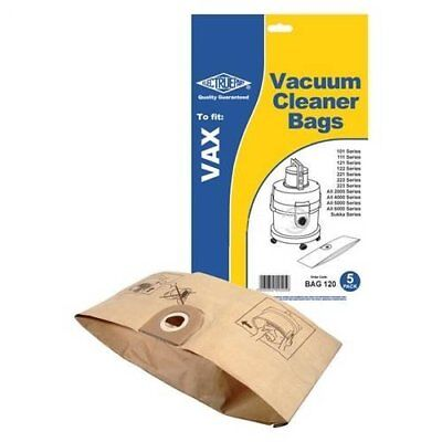 Vax 6131T, 6151F, 6151T  Hoover Bags Paper Vacuum Cleaner Dustbags x 5 FREE POST