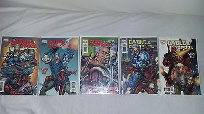 Cable and Deadpool vol 1 (2004) run set  #1 #2 #3 #4 #5 all VF (5  F) next film