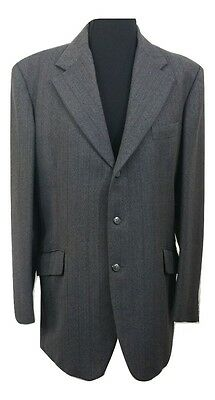 HOUSE OF FRASER Suit Chest 40in W34in L31 Dark Grey Alexaxandre Office Vintage