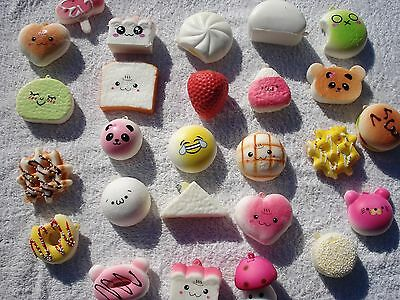 squishies 10 piece pack slow rising squishy many types and shapes super cute