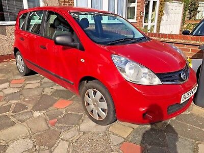 Nissan note vista 2009, full service history, drives perfect ,facelift,low miles